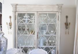 Gabby Furniture China Cabinet In Elegant Dining Room