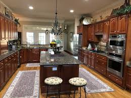 Kitchen Color Ideas With Cherry Cabinets Traditional Kitchen Remodel Bye Bye Cherry Cabinets