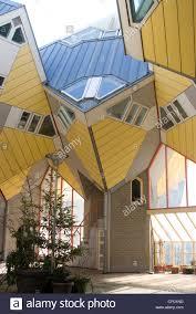 100 Cubic House Kubuswoningen Designed By Piet Blom Rotterdam Stock