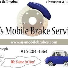 aj s mobile brake service closed auto repair 5325 elkhorn