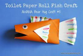 1 Fish Toilet Paper Tube Craft Cubbies Bear