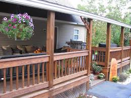 Screened In Porch Decorating Ideas And Photos by Back Porch Decorating Ideas Fall On The Porch Stonegable Fall
