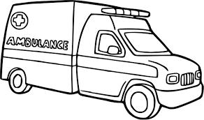 Ambulance 64 Transport Coloriages À Imprimer à Coloriage Camion