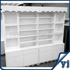 Nail Polish Wall Wood Showcase Designs Modern Cabinet Cosmetics Display Cabinets