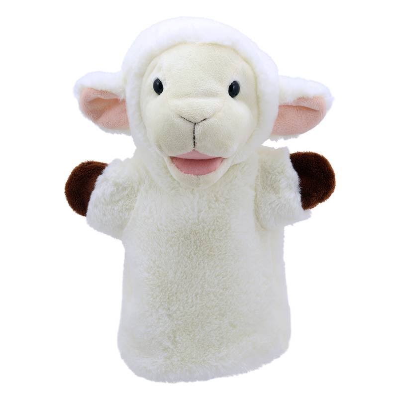 Puppet Buddies Sheep Plush - White