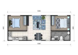 100 One Bedroom Granny Flats 2 Flat Designs 2 Flat Floor