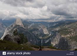 Yosemite Valley As Seen From Glacier Point National Park California