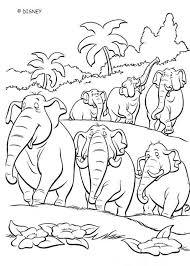 ELEPHANT SQUADRON Coloring Page
