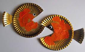 Paper Plate Goldfish Craft Tutorial