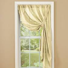 country curtains courtland tie up panel 63