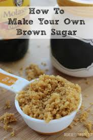 How To Make Your Own Brown Sugar