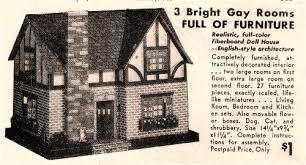 Vintage Paper Dollhouses – Inherited Values