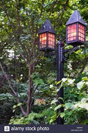 Halloween Busch Gardens by Elegant Lamp Posts With Orange Lights Line Paths At Busch Gardens