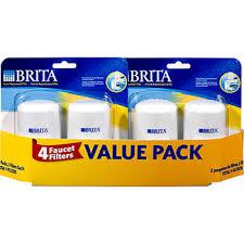 Brita Faucet Filter Replacement Instructions by Brita Tap Replacement Filters 4 Pk Bj U0027s Wholesale Club