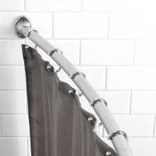 Curtain Rod Brackets Kohls by Home Curved Shower Curtain Rod