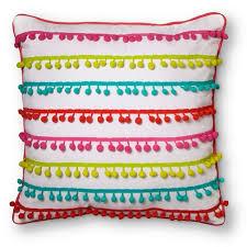 Pom Pom Throw Pillow 18