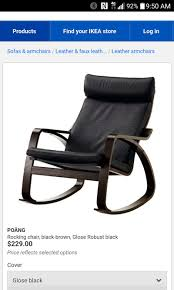 Ikea Glider Chair Poang by Ikea Chair With Ottoman Inches Free Shipping Espresso Glider And