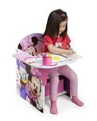 Minnie Mouse Bedroom Accessories Ireland by Amazon Com Delta Children Chair Desk With Storage Bin Disney