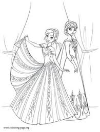 Best Printable Frozen Coloring Pages