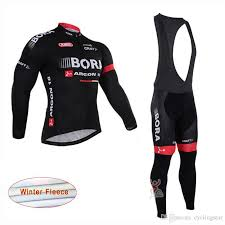 Ropa Ciclismo Bora Argon Pro Team Winter Cycling Jersey Long Sleeve