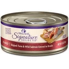 wellness cat food wellness signature selects grain free flaked skipjack