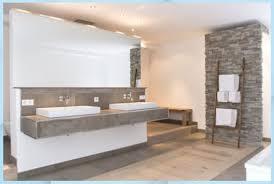 naturstein und holz das bad mit natürlichen materialie