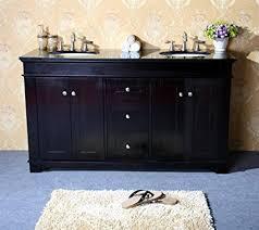 sienna vessel single sink bathroom vanity with granite top