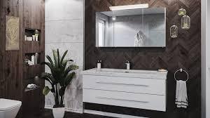 emotion waschtisch badmöbel set damo 130 spiegelschrank carrara marmor 1 hahnloch weiß hgl kaufen otto