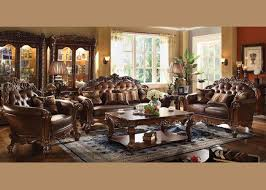 Amazon Com Acme Vendome Living Room Set With Sofa And Loveseat Kitchen U0026 Dining