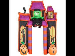 Airblown Halloween Inflatable Archway Tunnel by Gemmy 2016 Animated 9ft Haunted House Archway Inflatable Review