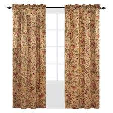 Waverly Fabric Curtain Panels by Waverly Imperial Dress Curtain Panel Antique 42 U0027 U0027x84 U0027 U0027 Target