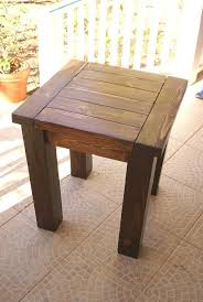 Nice Patio Furniture End Tables 25 Best Ideas About Outdoor Side