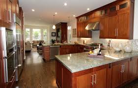 traditional kitchen with high ceiling flush in san francisco ca