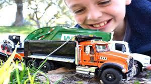 100 First Gear Garbage Trucks Truck Videos For Children L Diecast Mack Granite
