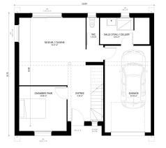 plan maison 4 chambres etage plan maison individuelle 4 chambres gaya habitat concept