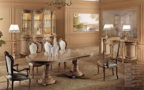 luxus esszimmer mit esstisch und stühle lifestyle und design