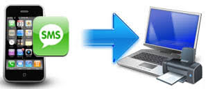 How to print iPhone text messages on puter