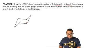 Chair Conformations Of Menthol by Draw The Least Stable Chair Conformation Of 2 Clutch Prep