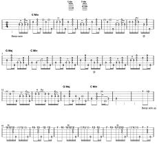 Darling Corey Clawhammer Banjo Tab Part 1