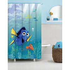 Buy Finding Dory Sun Rays Fabric Shower Curtain at Walmart