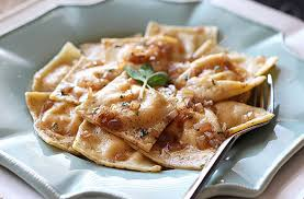 Pumpkin Ravioli Filling Ricotta by Pumpkin Ravioli With Browned Butter Sauce The Kitchenthusiast