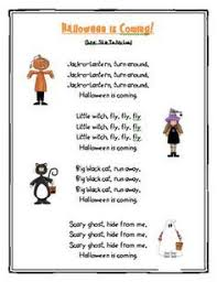 Poems About Halloween That Rhymes by Childrens Halloween Poems Google Search Halloween Pinterest