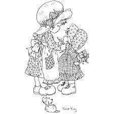 Sarah Kay 15 Dibujos Animados Páginas Para Colorear