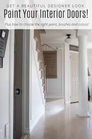 Home Interior Doors Get A Beautiful Designer Look When You Paint Your Interior