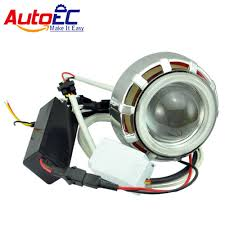 autoec led hid bi xenon motorcycle projector lens kit headlight