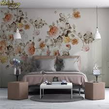 beibehang blume foto tapete große 3d stereo romantische hochzeit zimmer gemütliches wohnzimmer schlafzimmer tulip blumen 3d wandbild tapete