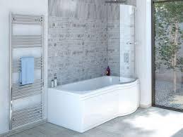 duschbadewanne 170x85 cm r mit badewannenaufsatz badewanne mit dusche