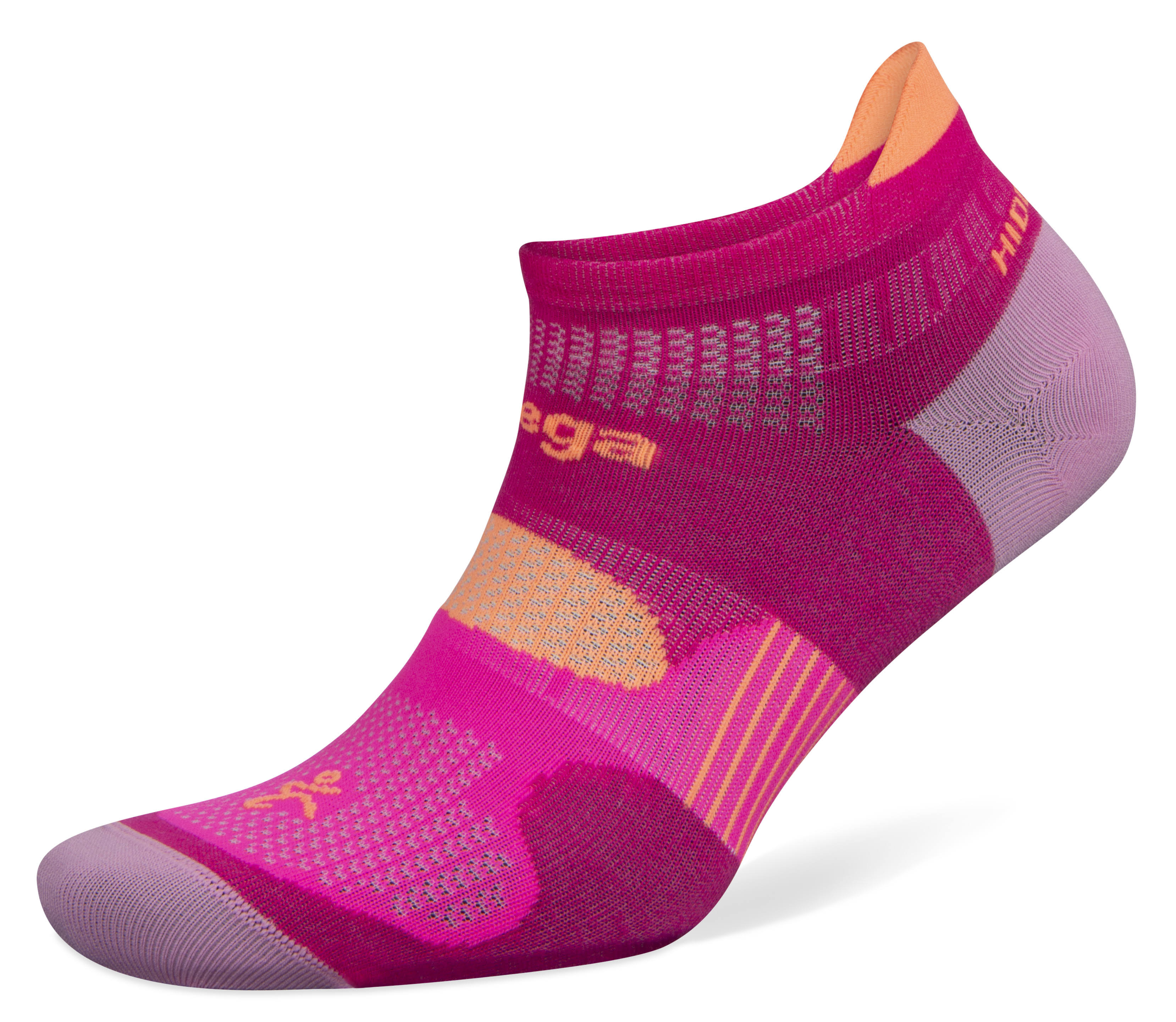 Balega Hidden Dry Socks BAL8948 Electric Pink/Bubblegum Pink - Medium