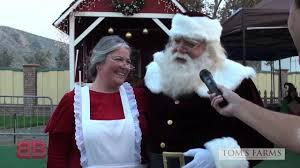 Toms Pumpkin Farm by Christmas At Tom U0027s Farms From The Business Blast Youtube