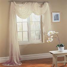 voile komplett gardinen set 3tlg weiß 60999 de